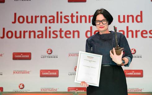Bildergebnis für journalistin des jahres 2012